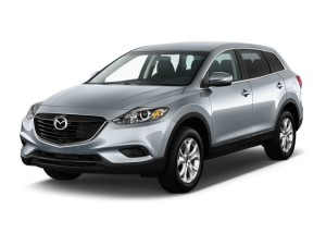 Mazda CX-9 Front View Exterior