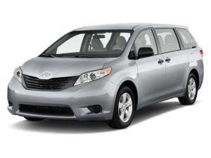 2013 Toyota Sienna Front Exterior