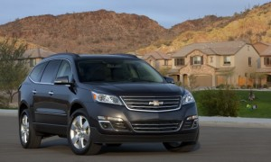 2013 8 Passenger Chevy Traverse