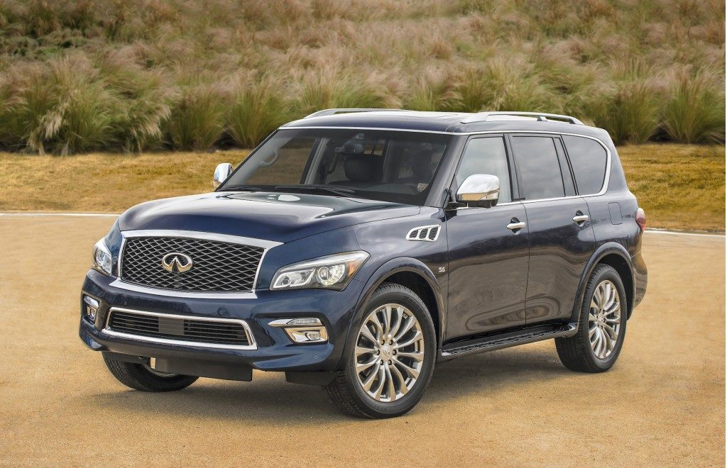 Infiniti Qx80 Is A Full On Luxury Suv Designed To Comfortably Transport Eight Pengers In The Lap Of Its High Quality Interior Intended