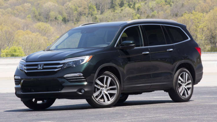 10 best 7 passenger suvs in 2016 reviews sortable list for Honda 7 seater suv