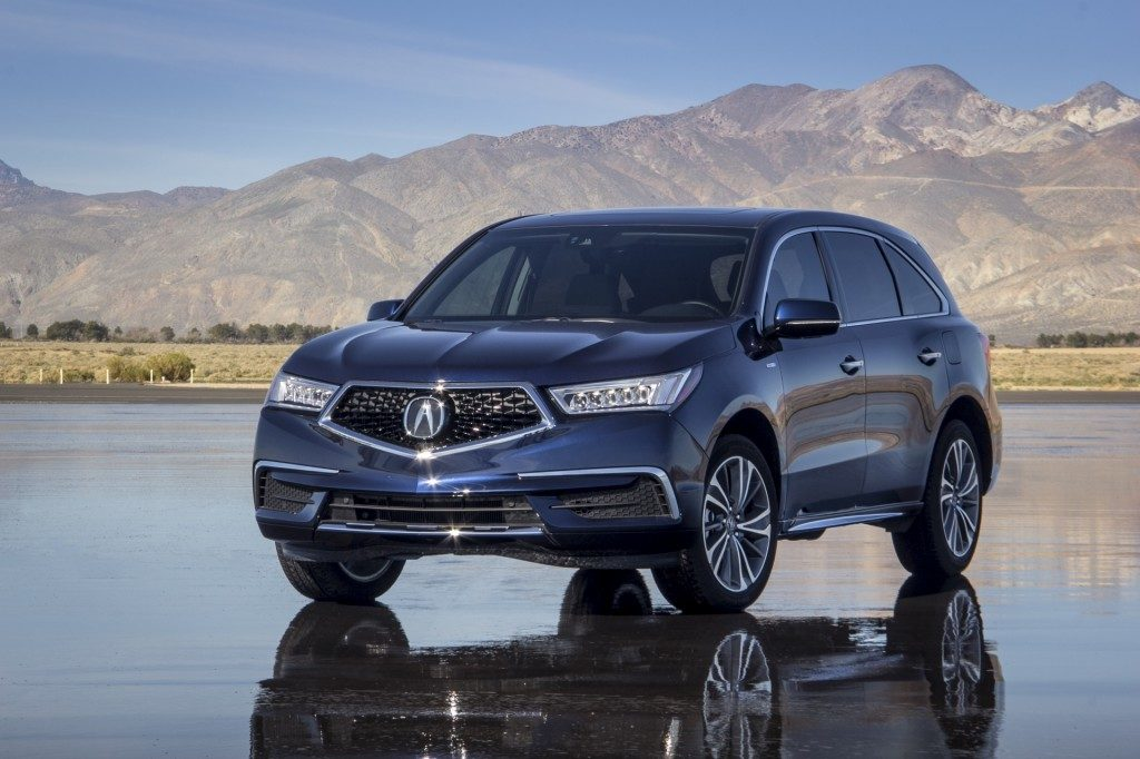 2017 Acura Mdx Review Seating Capacity 3rd Row