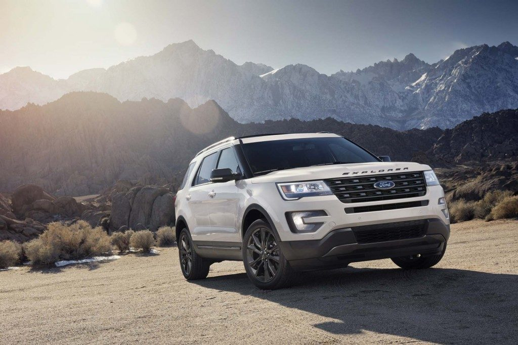 2017 Ford Explorer Review Seating Capacity 3rd Row
